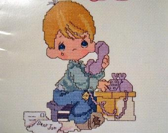 Precious Moments  Cross Stitch Patterns Dear Jon By Gloria & Pat