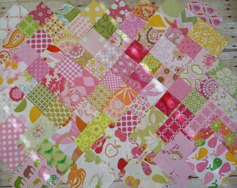 Pink Lemonade Charm Pack 50 Five Inch Squares.