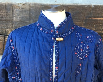 Vintage Appalachian Quilt Trail Coat
