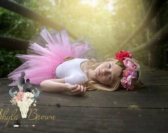 Custom sitter,toddler,teen,adult floral headband,wedding,flower girl,photography prop