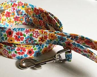 Summer Floral  Dog Leash