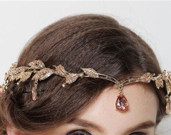 Stone vintage  headband