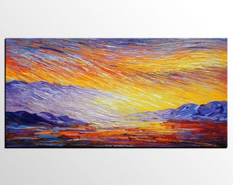Oil Painting, Canvas Art, Original Painting, Abstract Painting, Abstract Art, Large Art, Wall Art, Oil Painting Abstract, Landscape Painting