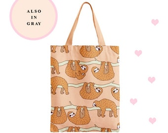 Sloth tote bag,tote,tote,bag,cotton bag,illustration,sloth,sloth lover,animal,sleepy,cute,animal lover,kawaii,tote,tote bag,totes,bag,bags