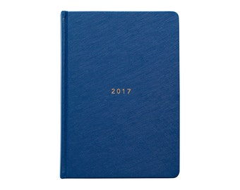 2017 Diary Planner | A5 HC | Navy | 2017 Planner | 2017 Weekly Planner | Planner | 2017 Agenda | Goals | To Do List | inspirational quotes