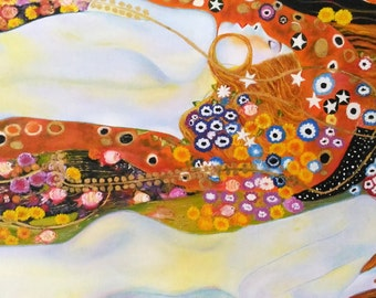 Art Reproduction - Klimt - Water Snakes
