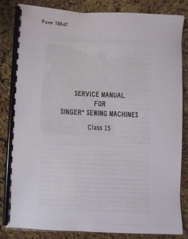 singer sewing machine 403a manual
