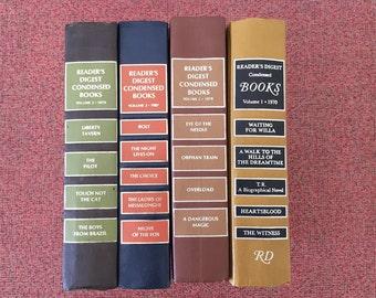 4 Reader's Digest Condensed Books, Book Bundle, Set of Books