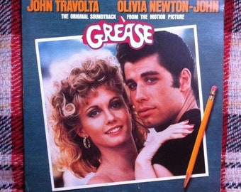 Grease 2X LP Vinyl Record Movie Soundtrack