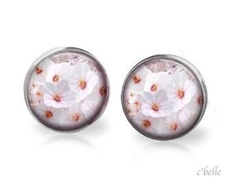 Earrings flowers - cherry blossom 13