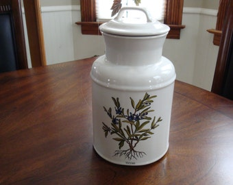 McCoy Pottery MILK CAN CANISTER, Cookie Jar or Storage Jar!