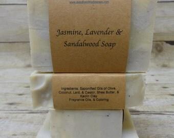 Jasmine, Lavender & Cedarwood Soap