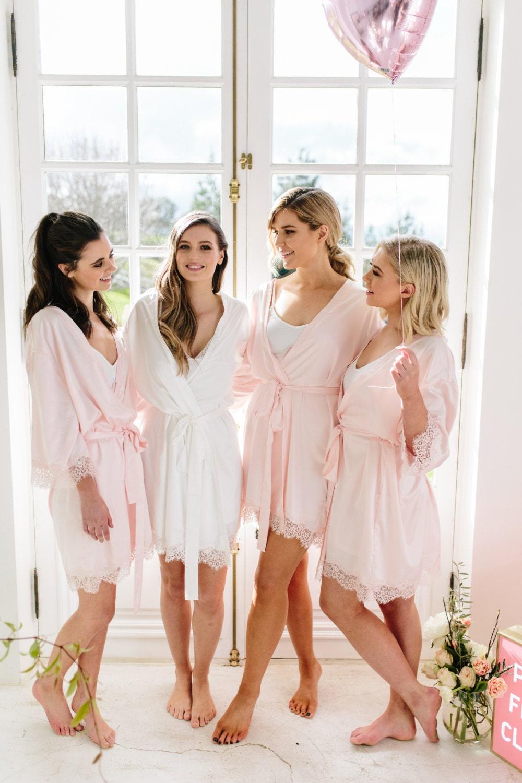 Lace Bridal Robe Bridesmaid Robes Robe Bridal Robe