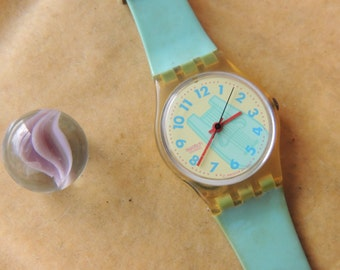 Vintage 1992 Swatch Quartz Watch
