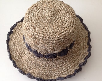 Eco Friendly Pure Hemp Sun Hat