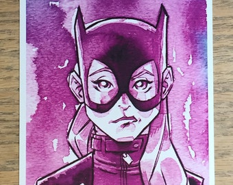 Batgirl Mini Print
