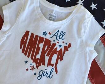 All American Girl T-shirt or Onesie
