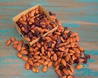 Delicious Tamari Almonds - Wheat Free and Gluten free - 2 cups - 16 ounces