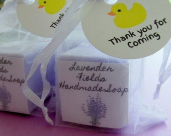 Baby shower soap favors set of 20 party favors lavender scented mini soap favors baby shower favors soap party favors bath and beauty fru