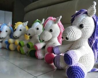 Lucky the Crochet Horse Amigurumi - Handmade Crochet Amigurumi Toy Doll - Horse Crochet - Amigurumi Horse