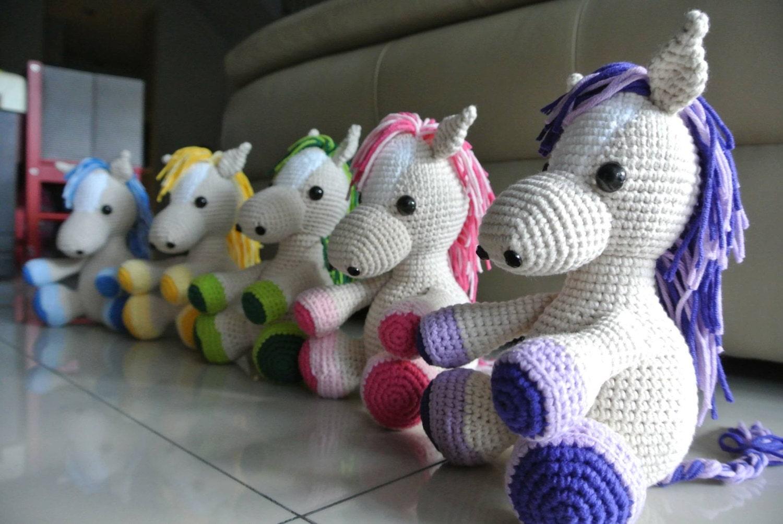 Amigurumi Guinea Pig Crochet Pattern : Lucky the Crochet Horse Amigurumi Handmade Crochet Amigurumi