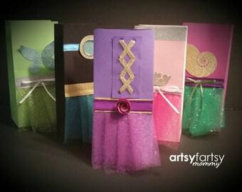 Princess Birthday - Princess Party Goodie Bags - 10ct.