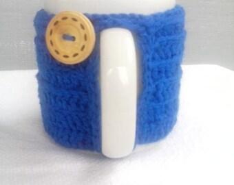 Coffee Cup Cozy, Coffee Mug Cozy, Crochet Cozy, Hot Drink Cozy