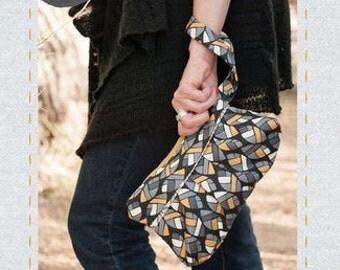 Bag Pattern, Pleated Clutch Bag Pattern, Bag Patterns Australia