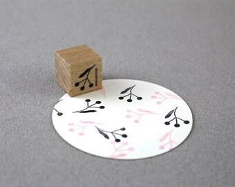Stamp Three Buds- Drei Knospen
