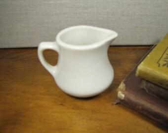 Homer Laughlin - Small White Restaurant Ware Creamer