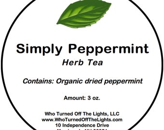 Peppermint Tea - Organic