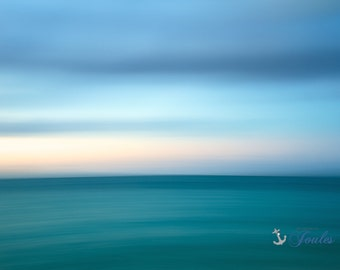 Caribbean Abstract ~ Turks and Caicos, Caribbean, Islands, Beach, Coastal, Ocean, Turquoise, Aqua, Beach House, Nautical Photography, Art