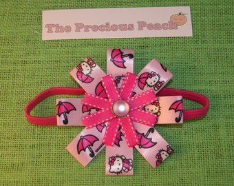 Hello Kitty pink headband