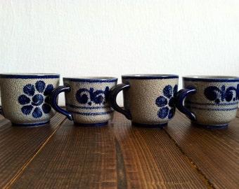 Vintage Floral Teacup Set