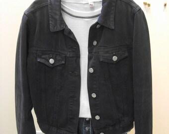 Vintage R.I Clothing Co. Womens Faded Blue Cotton Size Medium