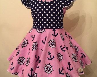 Sailing dress and/or shorts.