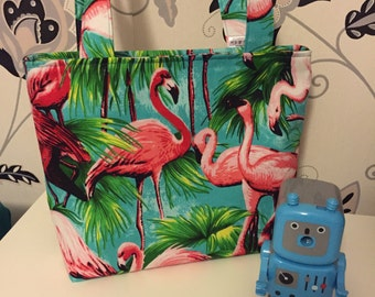 Flamingo Mini Tote Bag