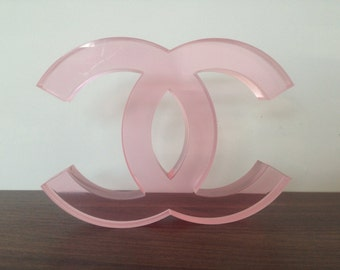 Chanel CC Display Logo
