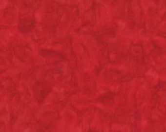 Wilmington Red Batik 2677-333 by the yard