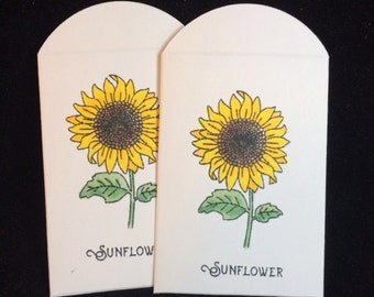 Sunflower Friendship Seed Packets - Non-GMO