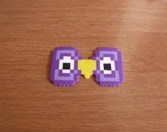 Owl Eyes Pixel Bow