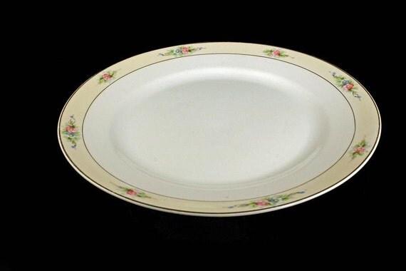 Noritake Dinner Plate, Nippon, Sedan Pattern