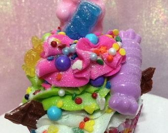 I Want Candy Cupcake Bath Bomb