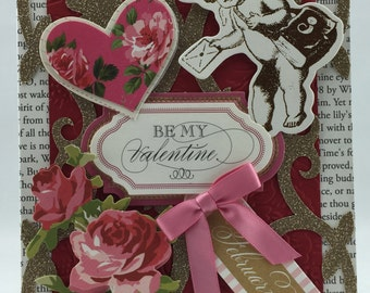 Handmade Greeting Card Romantic Love Valentine #334