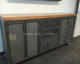 The Edwin Credenza Part II - Storage/ Media console
