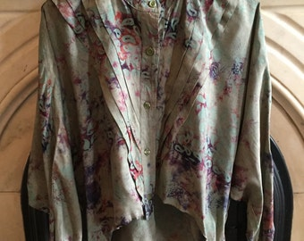 HALF-PRICE! Fancy cool vintage style blouse