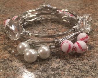 Baseball bangles
