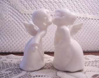 Kissing Boy & Girl Figurines