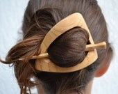 Womens Gift, Mom, mothers day from daughter,  Hair Stick, mothers, Hair Barrette, Hair Pin, Slide, Natural Wooden hair accessories,Haarstab