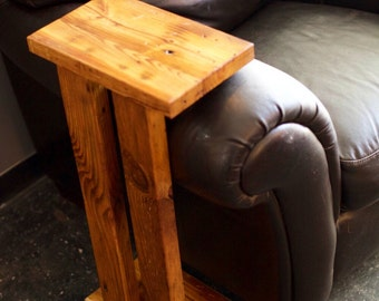 Reclaimed Arm-Rest Table